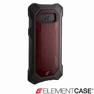 美國Element Case Samsung Galaxy S8 REV 防摔保護殼-紅
