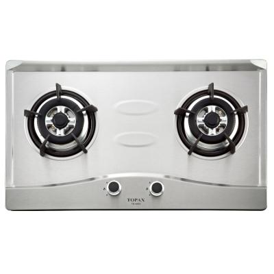 莊頭北-二口節能不鏽鋼檯面爐TG-8501S(桶裝瓦斯)