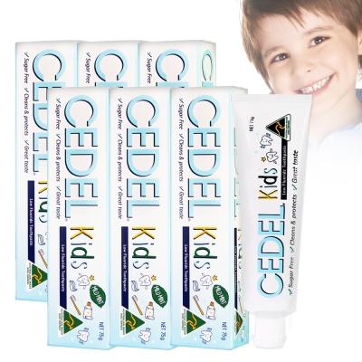 澳洲CEDEL含氟無糖兒童牙膏75g六入