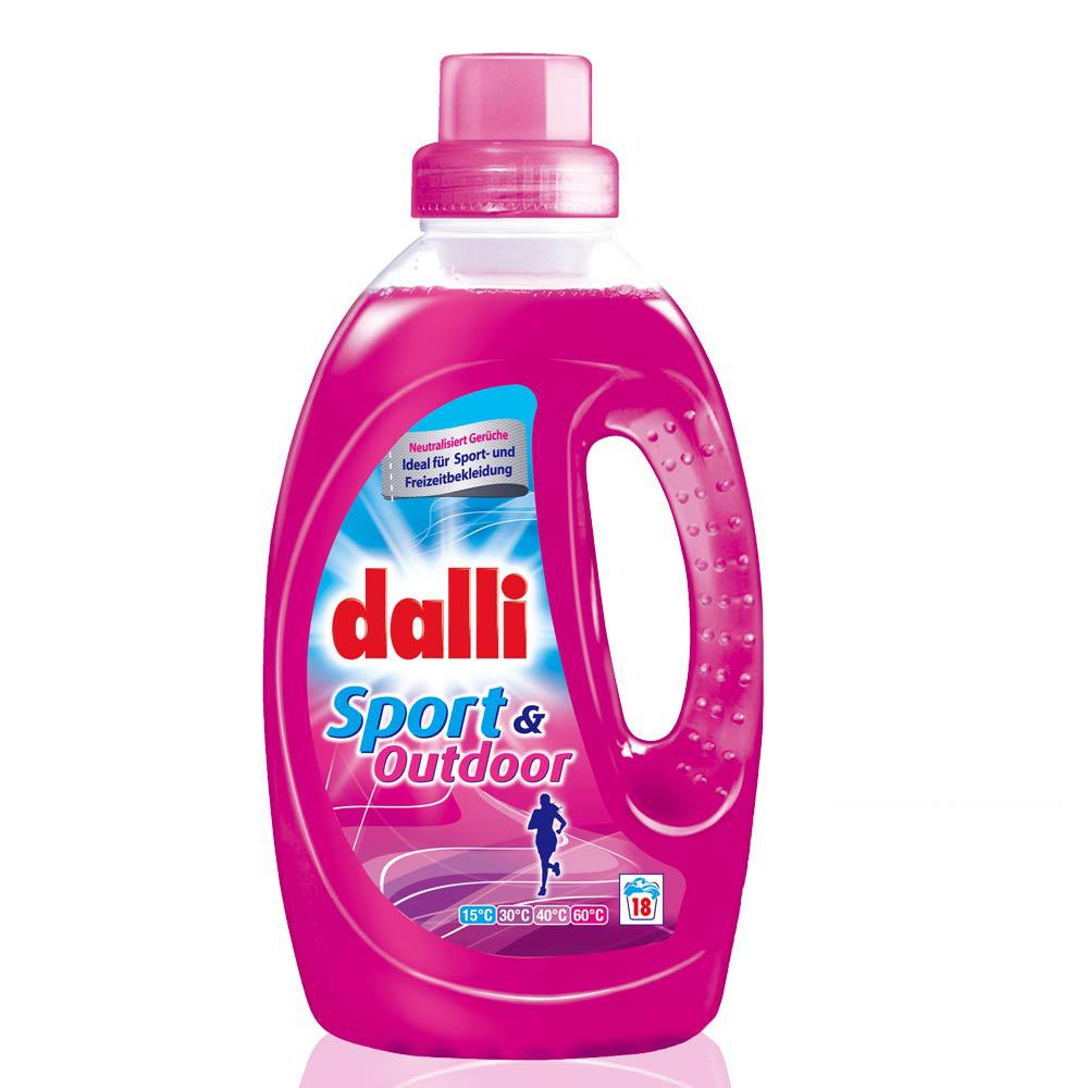 德國達麗Dalli 運動衣料洗衣精1.35L(6入/箱)