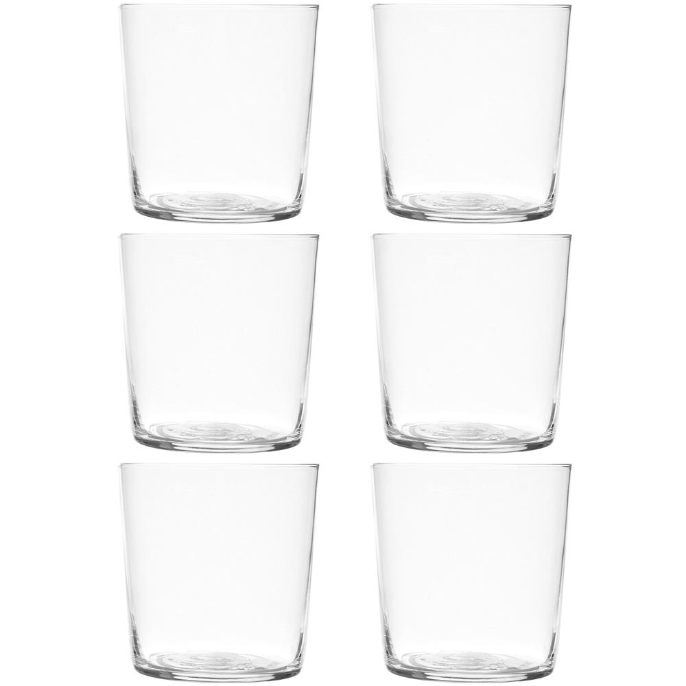 EXCELSA NY輕透玻璃杯6入(370ml)