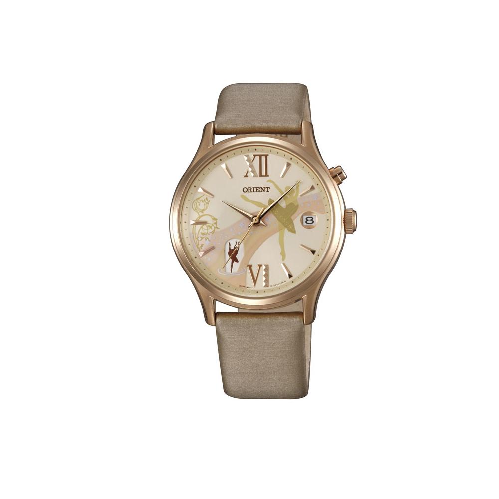 ORIENT 東方錶 夢幻芭蕾 機械錶(FDM01001Y)-玫瑰金-米白/36mm