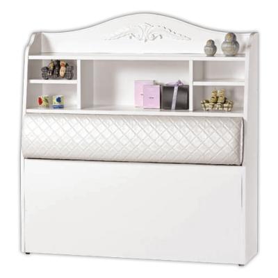 愛比家具 拉朵仙3.5尺單人書架型床頭箱