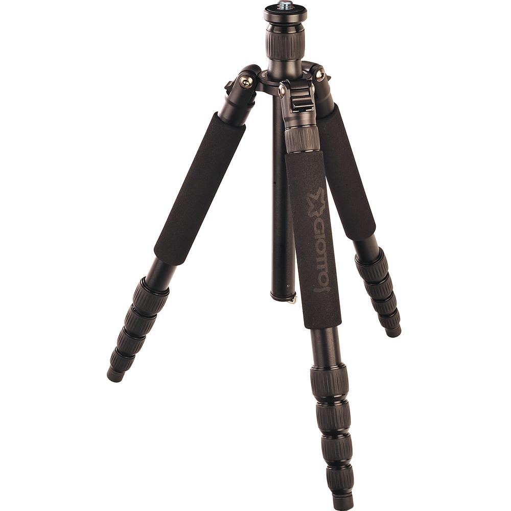 GIOTTOS VGR9255 反折式25mm五節金屬專業腳架/149cm