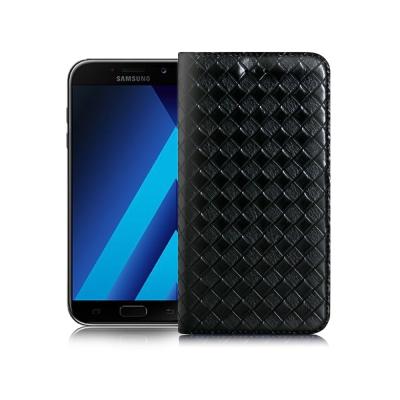 XM Samsung Galaxy A7 (2017) 魔幻編織磁吸皮套