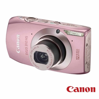 Canon Digital IXUS 310 HS 粉色 福利品