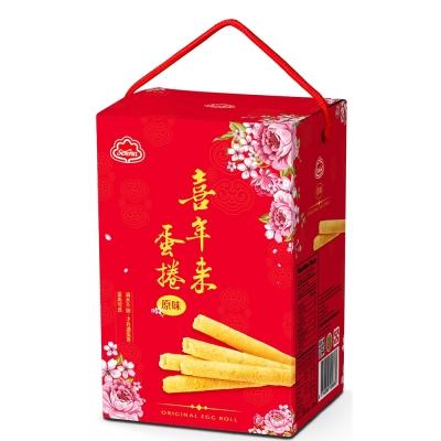 喜年來 大發原味蛋捲禮盒(384g)