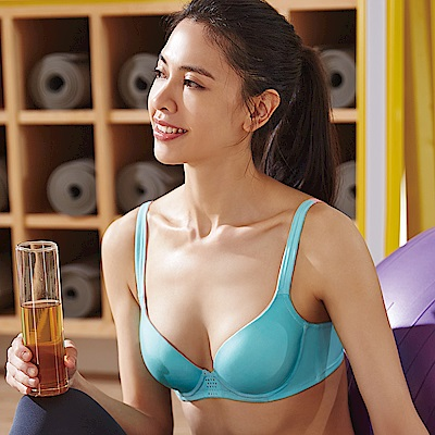蕾黛絲-輕鋼圈運動內衣 B-C罩杯內衣(水漾綠)