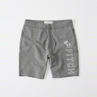 AF a&f Abercrombie & Fitch 短褲 灰色 003