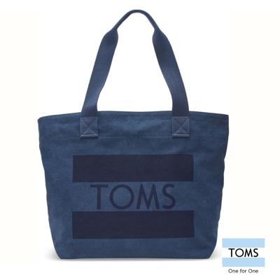 TOMS-經典LOGO托特包