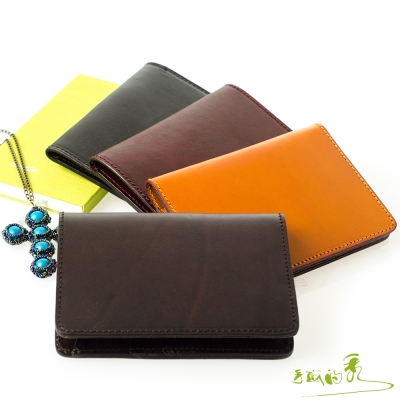 手感的秀-護照夾-頂級植揉牛革厚實手感系列-4色
