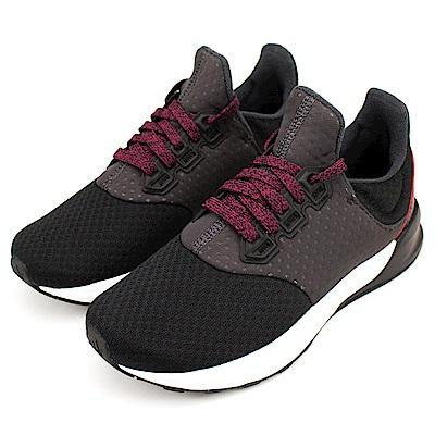 ADIDAS-FALCON ELITE 5女慢跑鞋-黑