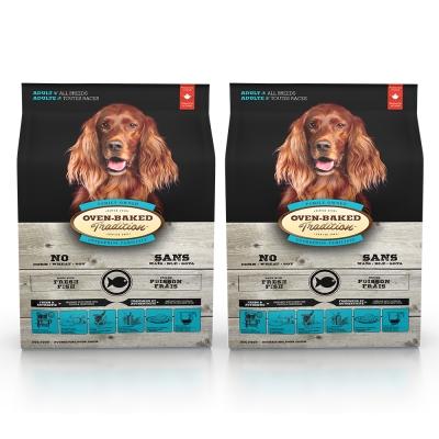 Oven-Baked烘焙客 成犬魚肉 (大顆粒) 天然寵糧 12.5磅 x 2包入