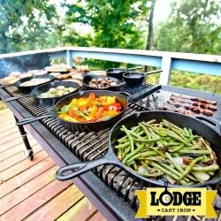 美國Lodge鑄鐵平底煎鍋系列