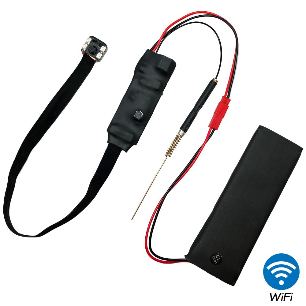【CHICHIAU】WIFI 1080P超迷你DIY微型紅外夜視針孔遠端網路攝影機錄影模組