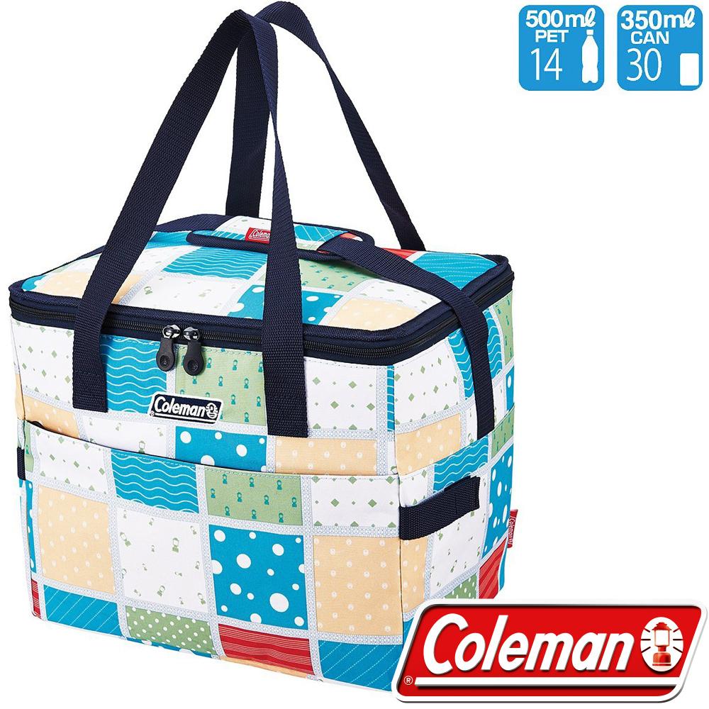 Coleman CM-27231_薄荷藍20L 保冷手提袋/便當袋