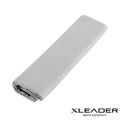 Leader X 超細纖維 吸水速乾運動毛巾  淺灰 - 快