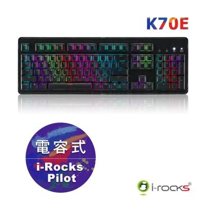 i-Rocks IRK70E 無接點電容式鍵盤-黑