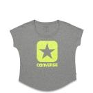 CONVERSE-女休閒短T恤10002807035-灰