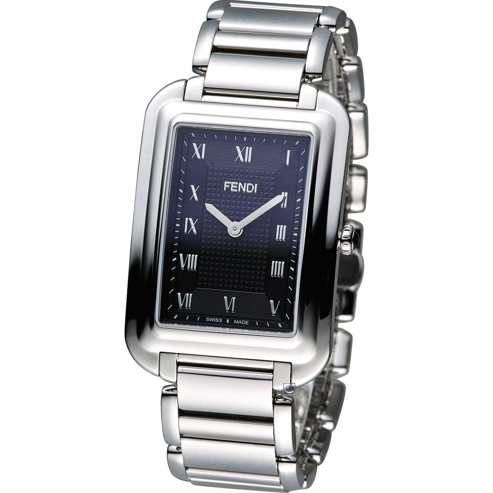 FENDI Classico 古典優雅時尚腕錶-黑/31x45mm