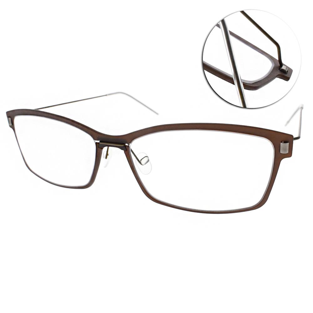 MARKUS T眼鏡 無螺絲眼鏡結構/棕#M1 065 525-174