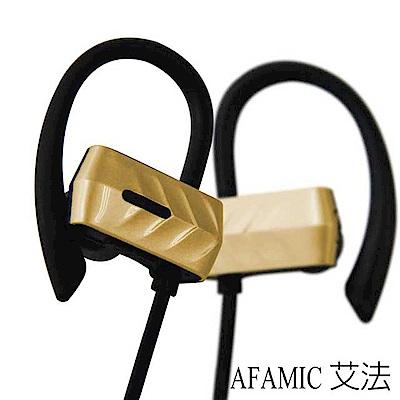 【AFAMIC 艾法】H21無線藍芽耳掛式立體聲防水耳機(免持聽筒 藍芽耳機)