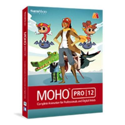 Moho Pro 12 (Win/Mac) (製作2D動畫) 單機版 (下載)