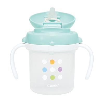 【麗嬰房】Combi 寬口喝水訓練杯T