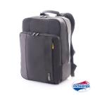 AT 美國旅行者 Norwick 輕量型筆電後背包(黑/黃)