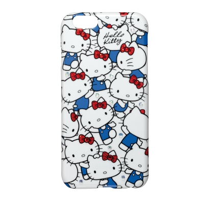 日本Suncrest HelloKitty iPhone6(4.7)閃鑽保護殼(...