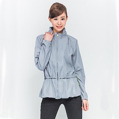 【TOPGIRL】花苞式風衣外套--淺灰