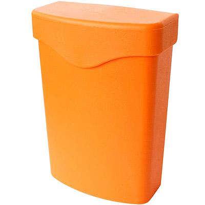 Sceltevie-夾式收納盒-橘L