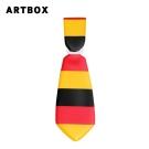 ARTBOX- 領帶造型行李吊牌(國旗系列-德國)