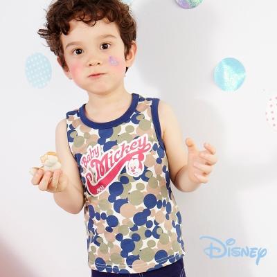 Disney 米奇美式運動背心 綠色