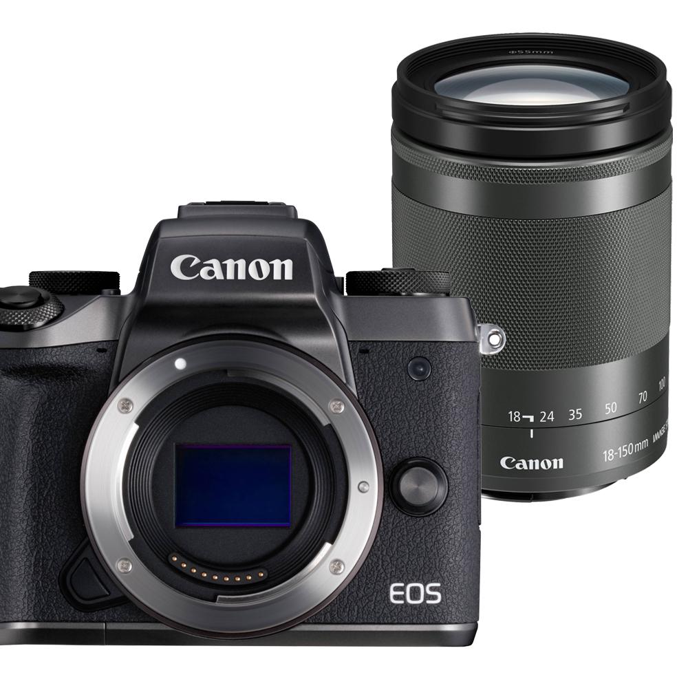 CANON EOS M5+18-150mm STM 單鏡組*(平輸中文)