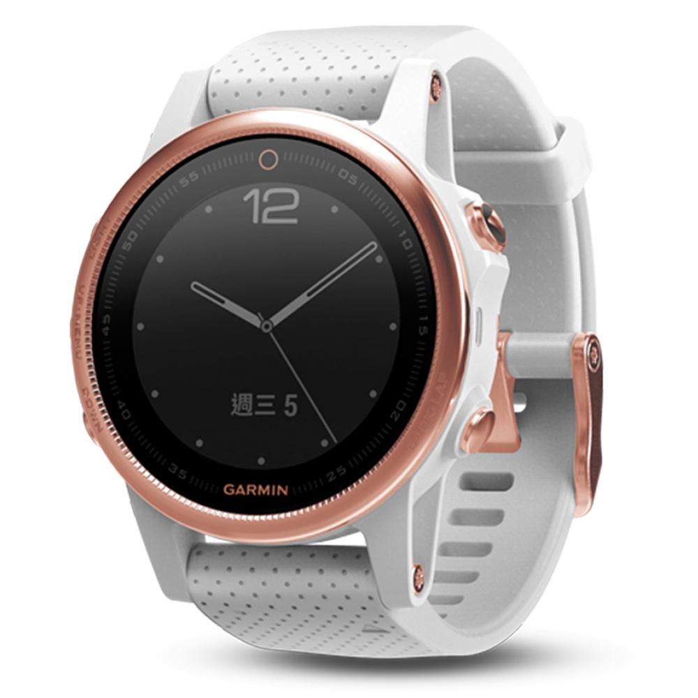 GARMIN fenix 5S 進階複合式戶外GPS腕錶 藍寶石版玫瑰金