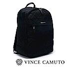 Vince Camuto 菱格尼龍大容量後背包-黑色