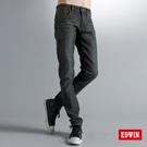 【EDWIN】原創堅持 W-F ZERO窄直筒保溫褲-男款(原藍磨)
