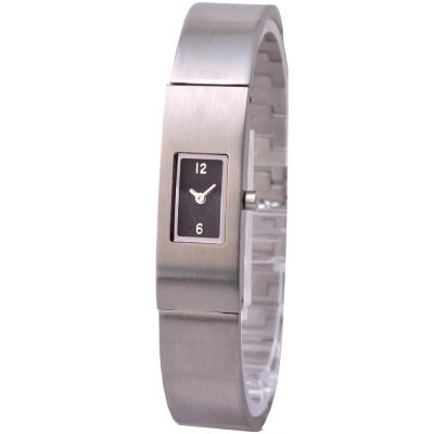 MORGAN 極簡洗鍊個性腕錶-黑/12mm