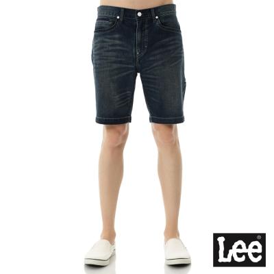Lee 牛仔短褲-Urban Riders系列-男款-藍