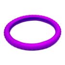 3D 矽膠方向盤套 紫