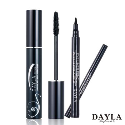 DAYLA-電眼濃密彈翹睫毛膏-魅眼造型防水眼線筆