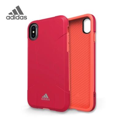 adidas iPhone X Solo Case 全保護手機殼 海棠紅