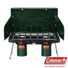 美國【Coleman】6707瓦斯雙口爐 自動點火使用瓦斯 收納方便(公司貨)