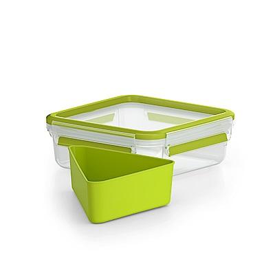 Tefal特福德國EMSA原裝MasterSeal樂活系列PP保鮮三明治盒850ML(快)