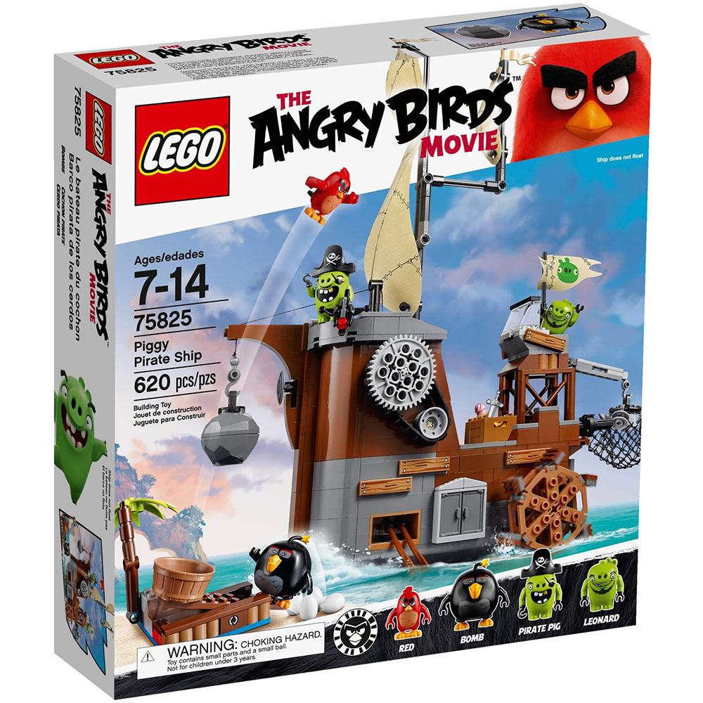 LEGO樂高 憤怒鳥玩電影系列 75825 豬豬海盜船