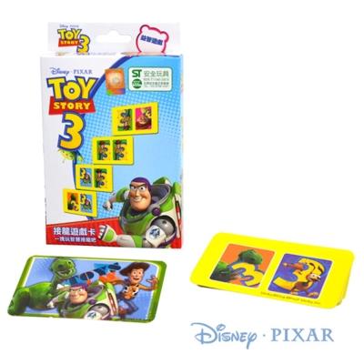 DISNEY。接龍遊戲卡(玩具總動員3)