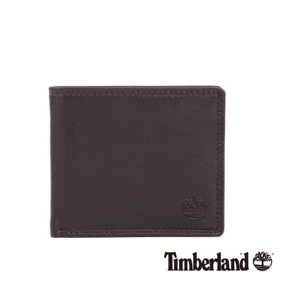 Timberland 男女款深咖啡色皮夾