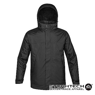 【加拿大STORMTECH】VPX-4五合一全氣候多功能抗寒兩件式外套-男-黑