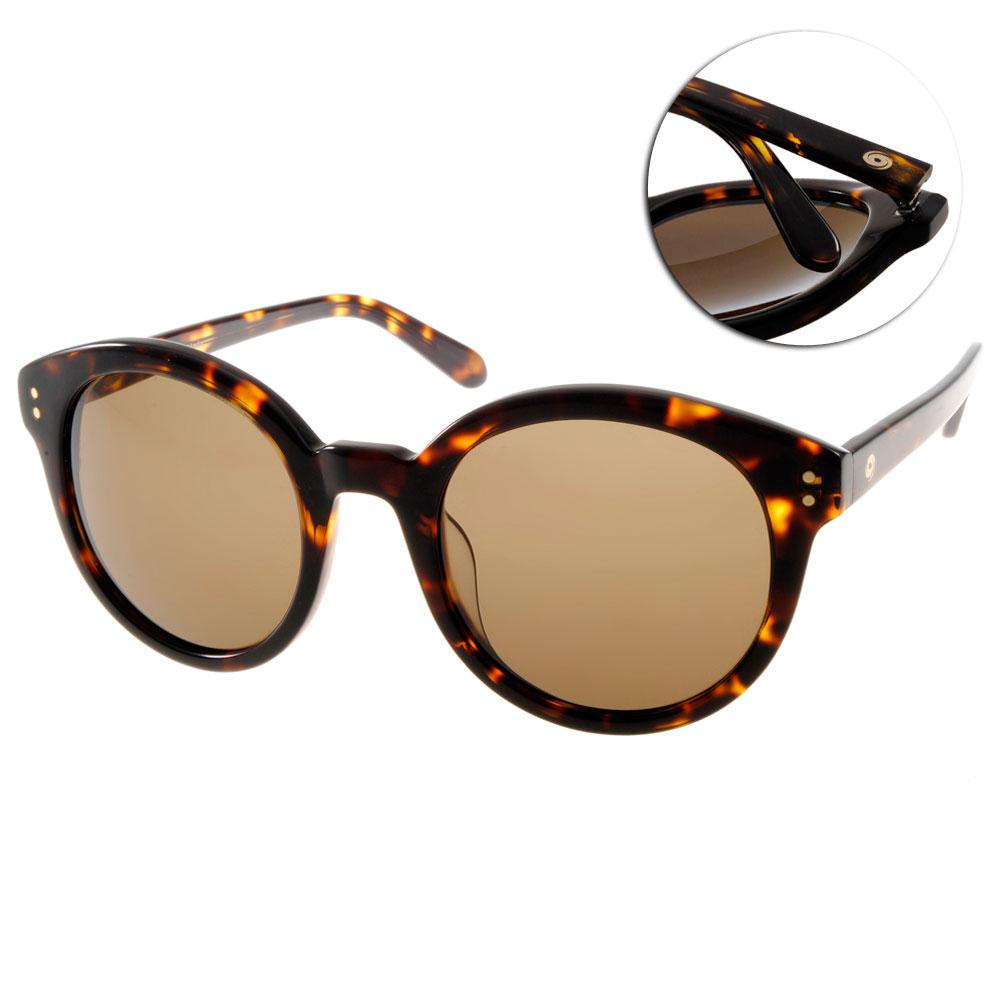 Go-Getter太陽眼鏡 韓系圓框/琥珀#GS1015 DE
